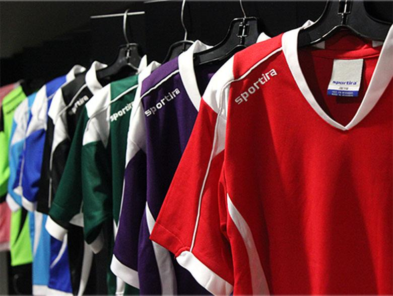 Sportira house league and custom uniforms