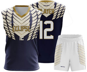 Eclipse jersey and shorts for flag football