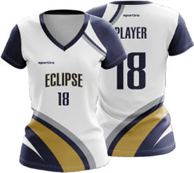 Eclipse jersey for volleyball