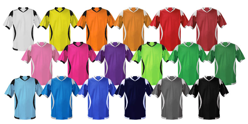 Sportira Encore kit colour options